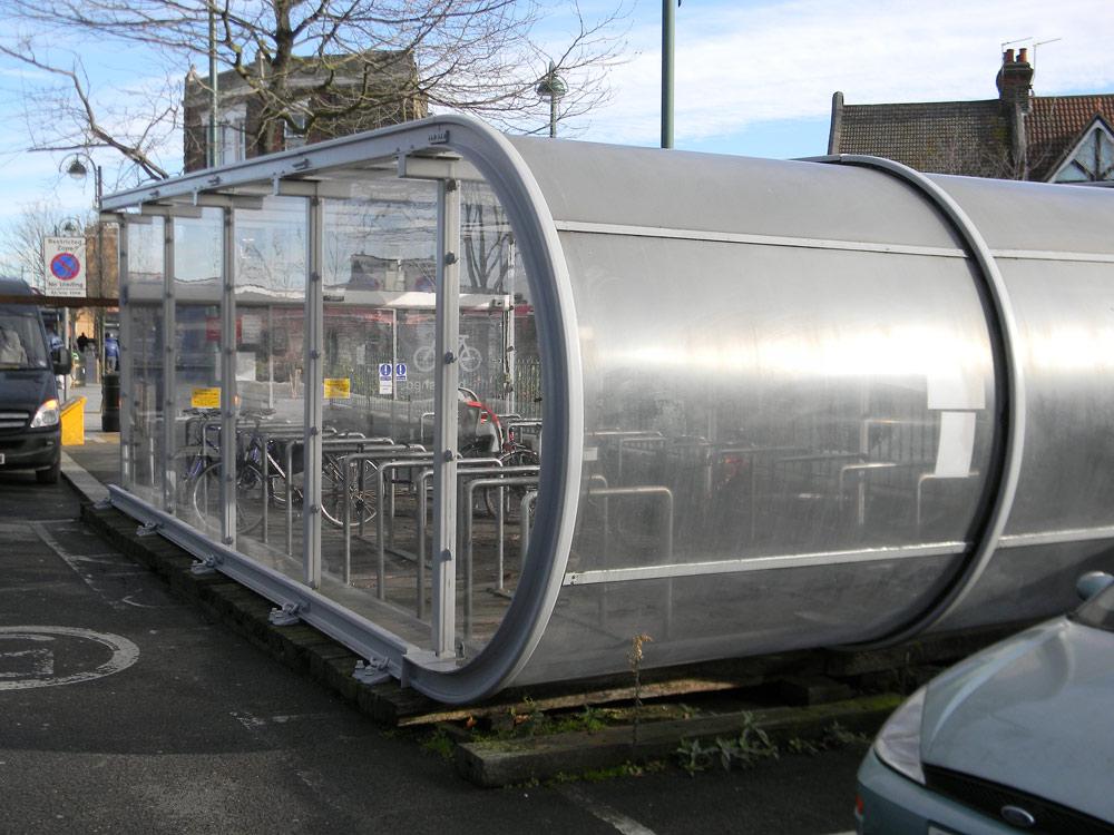 Bike Shelter Glazing