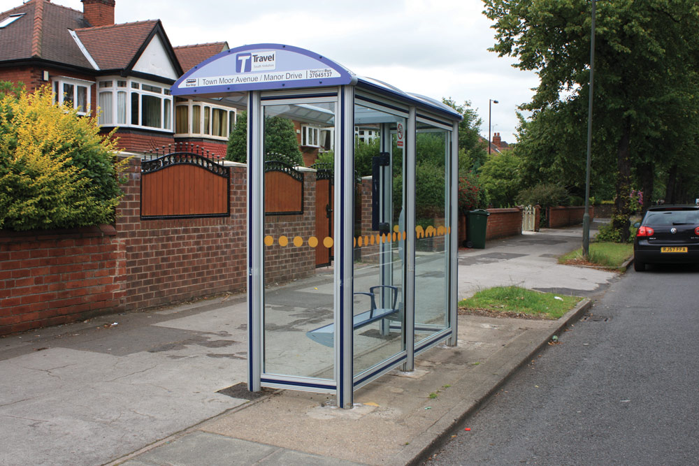 Bus Stop Glazing