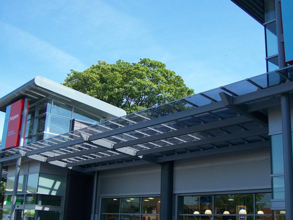Retail Park Canopy
