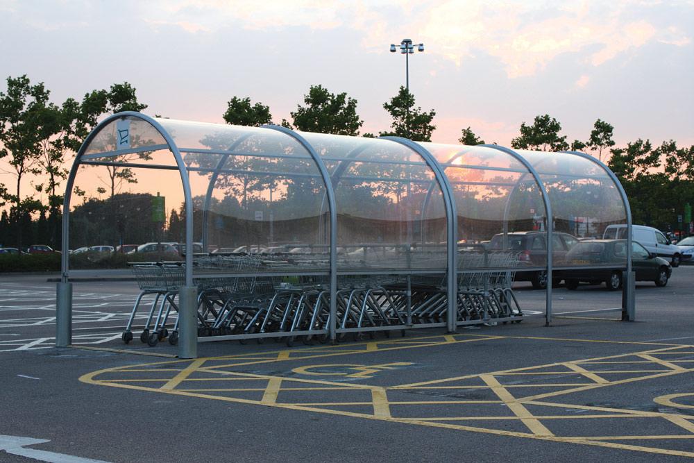 Trolley Shelter Glazing