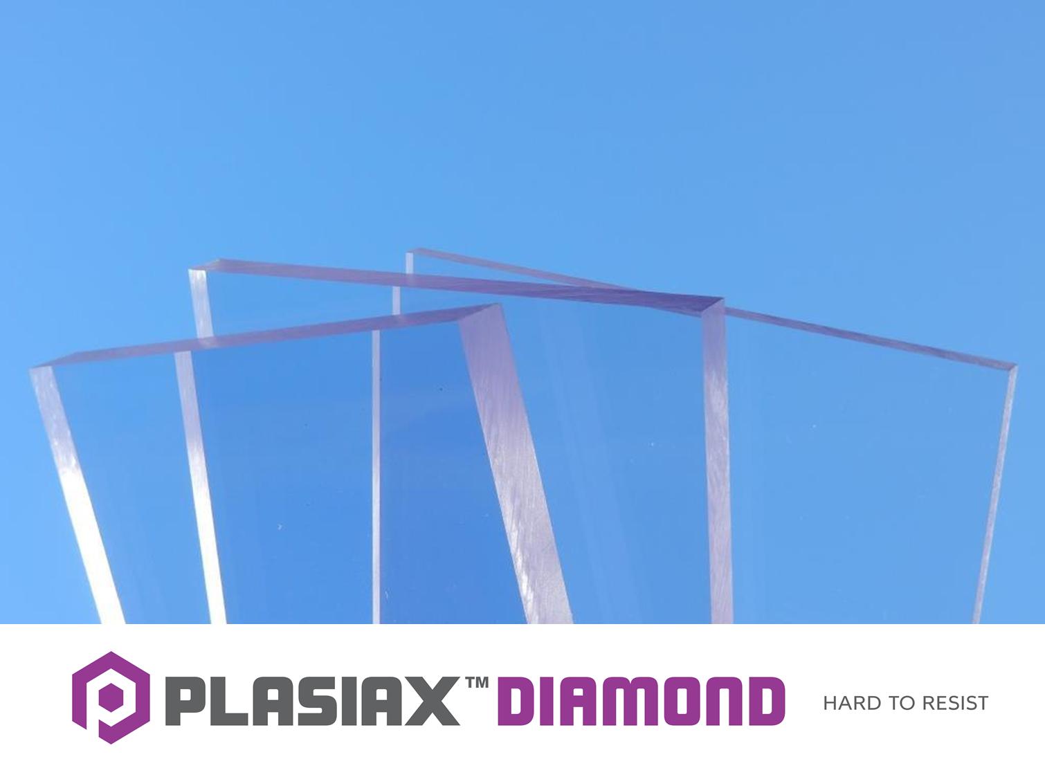 Hard Coat Polycarbonate UV   Plasiax™ Diamond